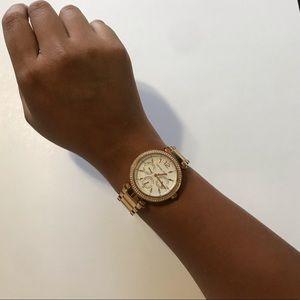 MICHAEL Michael kors women's parker bracelet watch